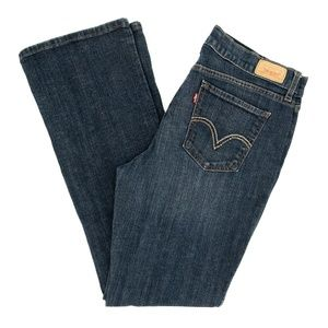 Levi's 515 Jeans Boot Cut Embroidered Sz 8M 31X30